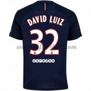 Neues Paris Saint Germain Psg 2016-17 Fussball Trikot David Luiz 32 Kurzarm Heimtrikot Shop..